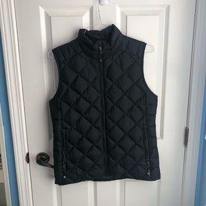 Black down vest